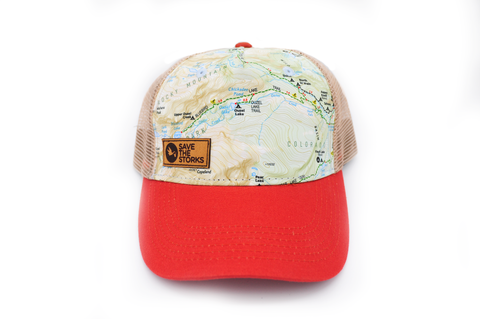 STS Rocky Mountain Map Hat