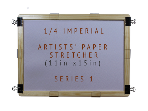 1/4 Imperial Artists' Paper Stretcher for Watercolour - Series 1 (11in x 15in)