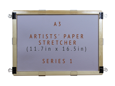 A3 Artists' Paper Stretcher for Watercolour - Series 1 (11.7in x 16.5in)