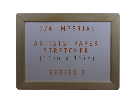 Series 2 1/4 Imperial Artists' Paper Stretcher. Front image 1.