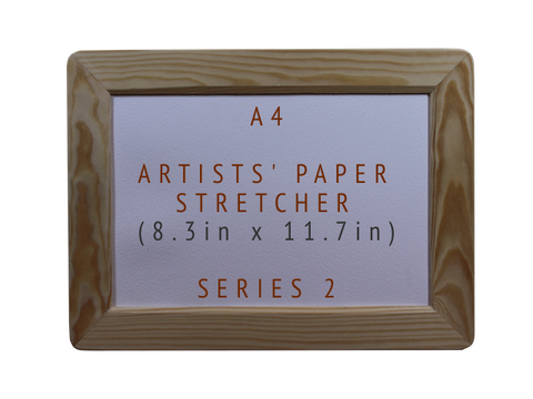 A4 Artists' Paper Stretcher for Watercolour - Series 2 (8.3in x 11.7in)