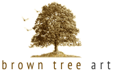 brown tree art