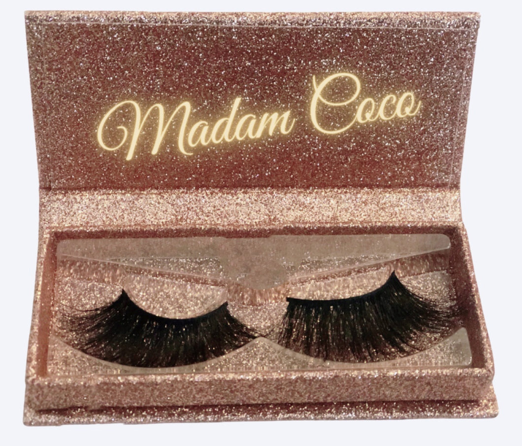 Madame Coco 3D Mink Lashes 25mm