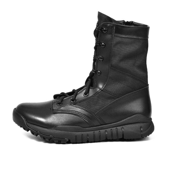 WATERPROOF MILITARY ANKLE BOOTS