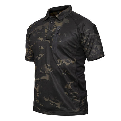 Camo Quick Dry Polo Shirt