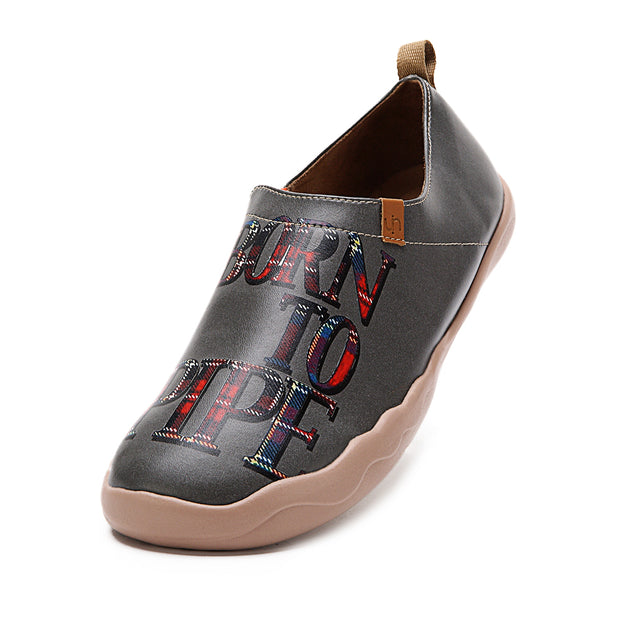 Born Piper Microfiber Leather Shoes for Men