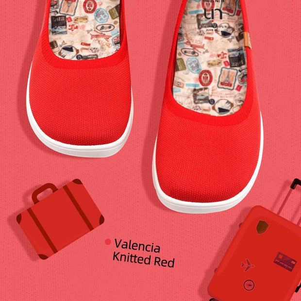 Valencia Knitted Rosso