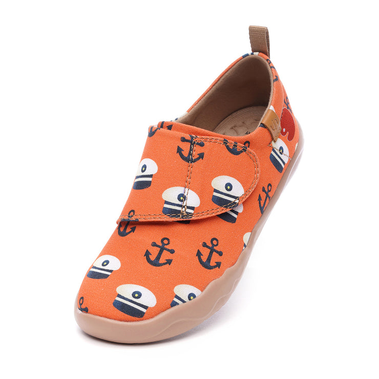 -Sea the World- Scarpe Moda per Bambini Design Artistico