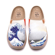 Great Wave off Kanagawa Slipper