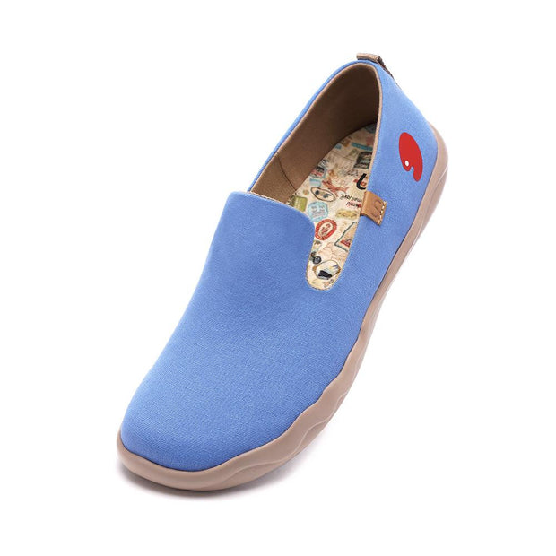 Barcelona Canvas Denim Blu