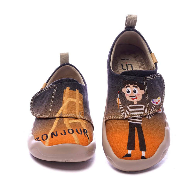 UIN Footwear Kid ART APART Kid Canvas loafers