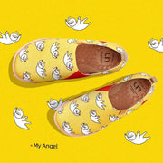 UIN Footwear Kid My Angel Kid Canvas loafers