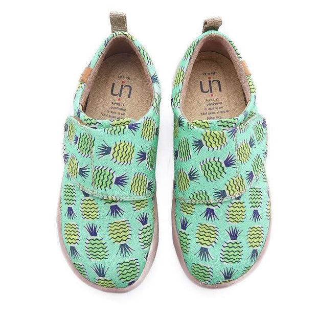 UIN Footwear Kid Pineapple Tree Canvas loafers