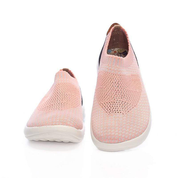 UIN Footwear Kid Sicily Pink Canvas loafers