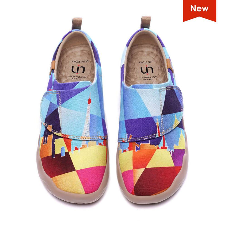UIN Footwear Kid SIGHTLAND Kid Canvas loafers