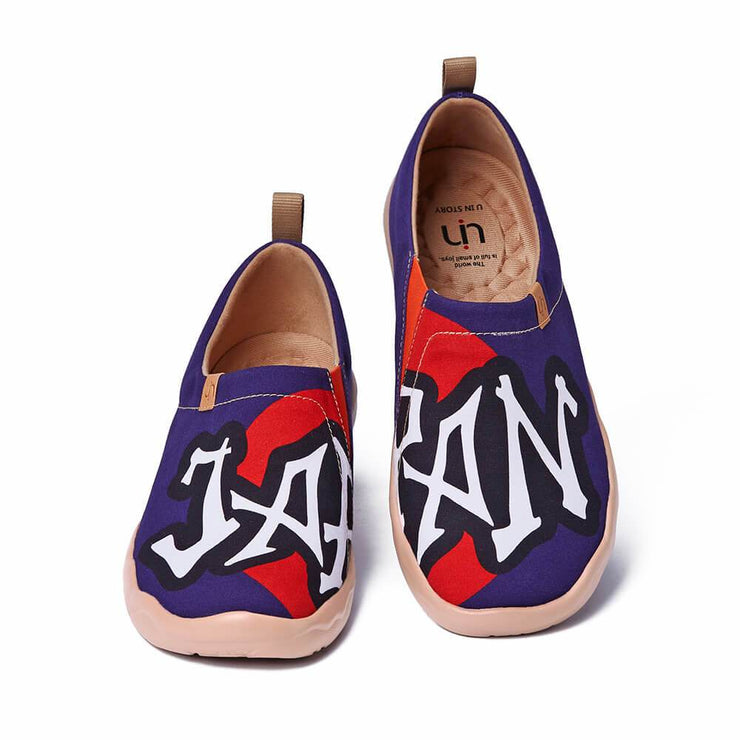 UIN Footwear Men Japan Street Canvas loafers