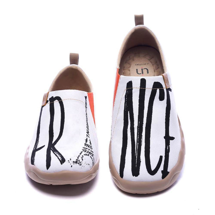 UIN Footwear Men Je ne sais quoi Canvas loafers