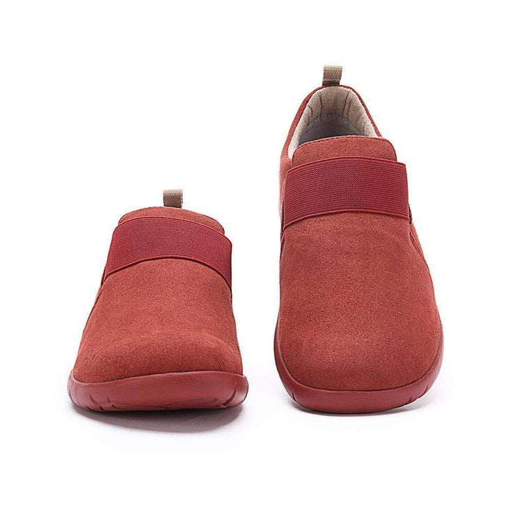 UIN Footwear Men Kakadu Red Canvas loafers