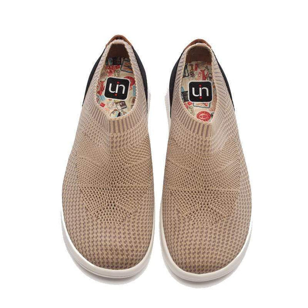 UIN Footwear Men Sicily Brown Canvas loafers