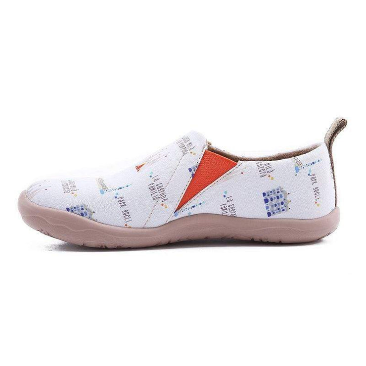 UIN Footwear Women Art City Canvas loafers