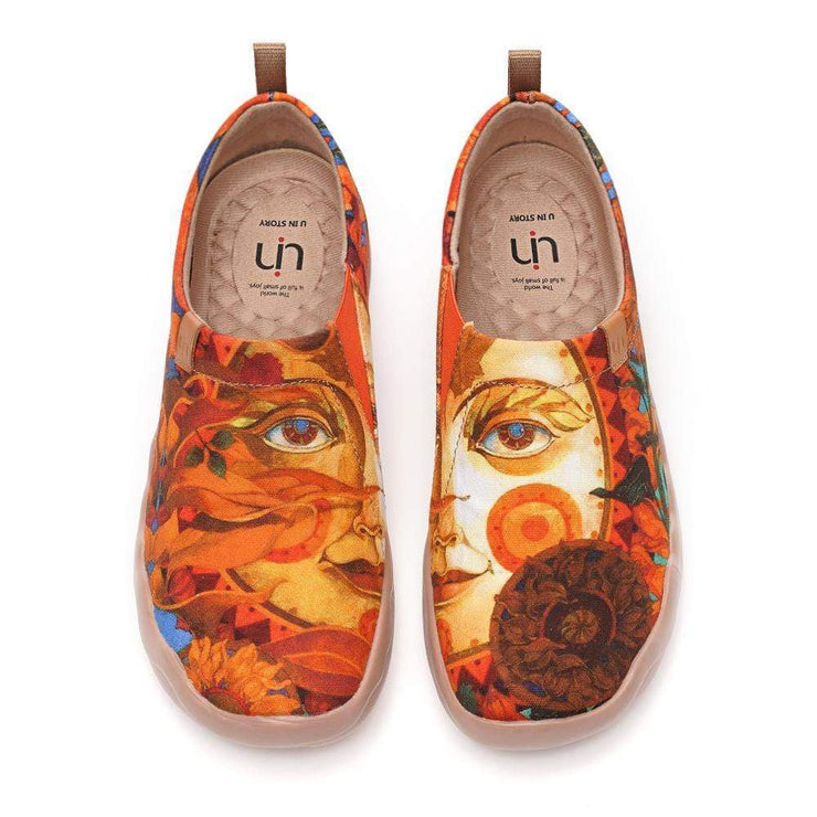 UIN Footwear Women Autumn Sun Canvas loafers
