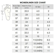 UIN Footwear Women Eye of Charm Rose Lady Canvas Painted Shoes Canvas loafers