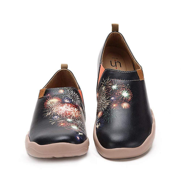 UIN Footwear Women Firework Canvas loafers