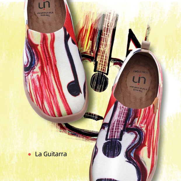 UIN Footwear Women La Guitarra Canvas loafers