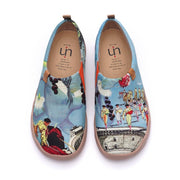 UIN Footwear Women Spare Me A Colosseum Canvas loafers