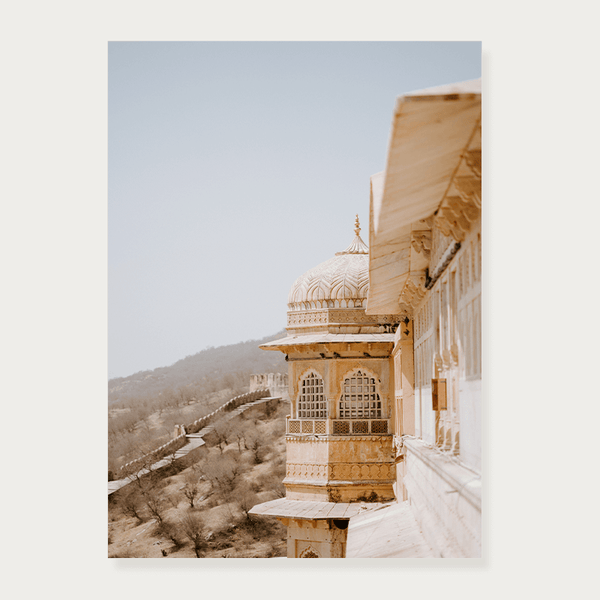 Plakat amer Fort w Indiach