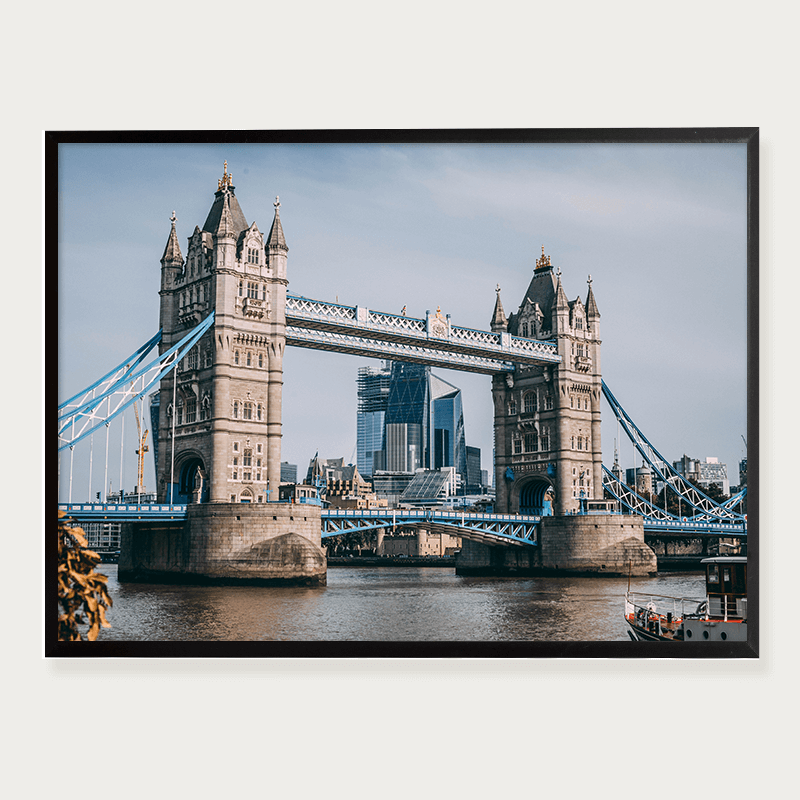Plakat tower Bridge