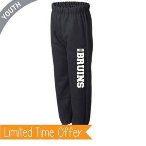 Black Youth Sweatpants