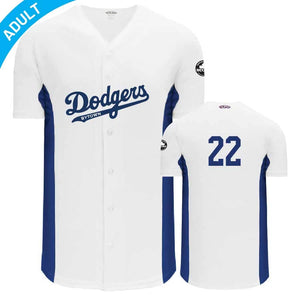 Full Button Baseball Jersey