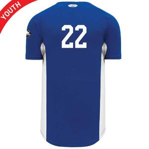 Youth Full Button Baseball Jersey
