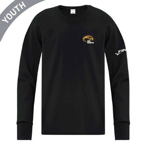 Youth Embroidered Cotton Long Sleeve