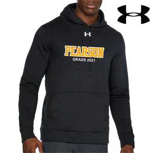 Black Under Armour Twill Hoodie