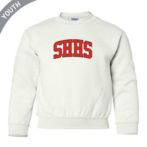 Youth Twill Crewneck