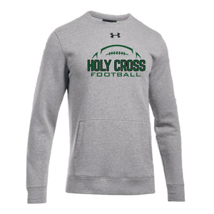 UA Hustle Fleece Crew
