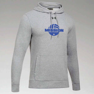 True Grey Under Armour Printed Hoodie