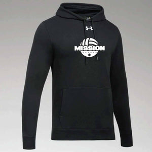 Black Under Armour Printed Hoodie