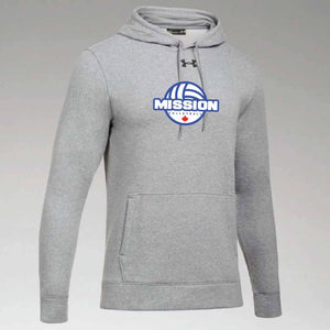 True Grey Under Armour Twill Hoodie