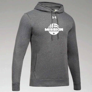 Carbon Under Armour Printed Hoodie