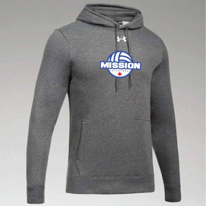 Carbon Under Armour Twill Hoodie