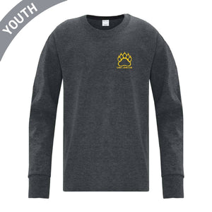 Youth Embroidered & Printed Long Sleeve