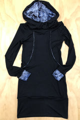 Sacred Empire Pocket Hoodie Dress