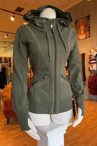 Olive Green Valencia Hoodie