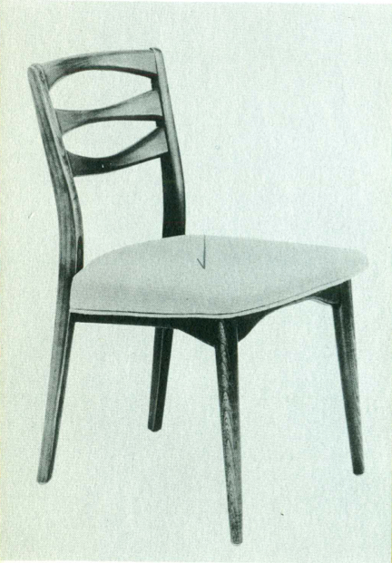 Lawrence Peabody Dining Chair Model 300 for Nemschoff: The Peabody Collection