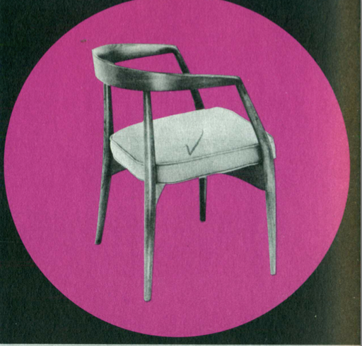 Lawrence Peabody Dining Chair Model 303 for Nemschoff: The Peabody Collection