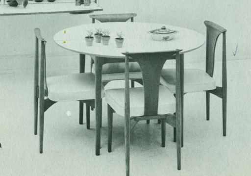 Lawrence Peabody Dining Chair Model 304 for Nemschoff: The Peabody Collection