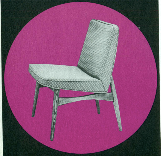 Lawrence Peabody Dining Chair Model 305 for Nemschoff: The Peabody Collection